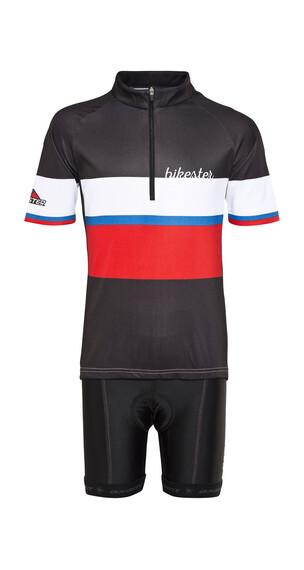 Bikester Basic Team zestaw koszulka i spodnie dla Dzieci czarny